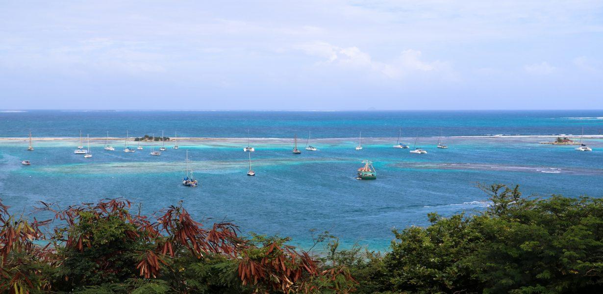 On lève l'ancre à Union Island dans le sud des Caraïbes