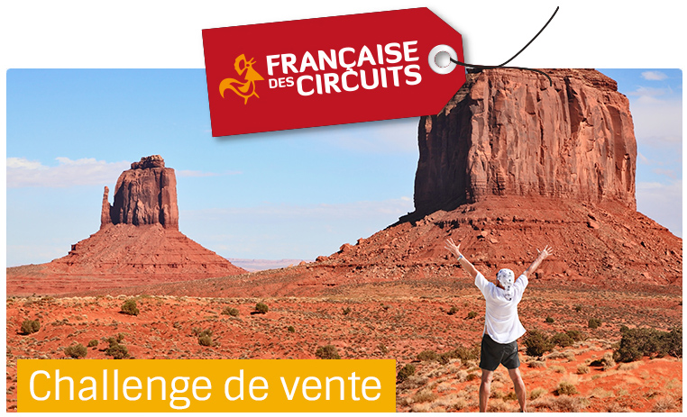 Challenge de vente<br> Destination USA !