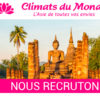 Climats du Monde recrute un ASSISTANT SERVICE TRANSPORT – BILLETTISTE
