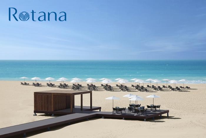 Remise exceptionnelle de 50% sur le meilleur tarif disponible dans tous les hôtels Rotana